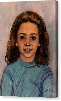 Kathleen Mahin Canvas Print by Kendall Kessler