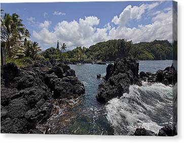 Keanae Canvas Print by James Roemmling
