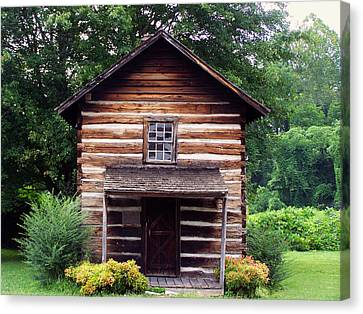 Keener Craft Cabin Canvas Print by Chris Flees