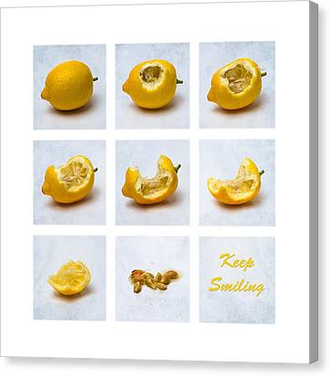 Keep Smiling Canvas Print by Alexander Senin