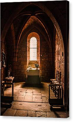 Canvas Print featuring the photograph Keep The Faith by Thierry Bouriat