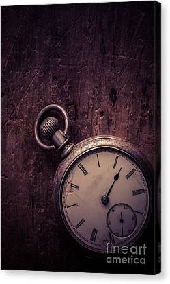 Keeping Time Canvas Print by Edward Fielding