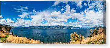 Kelowna Okanagan Lake Canvas Print by Ulrich Schade
