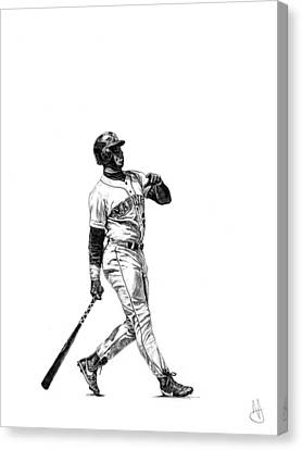 Ken Griffey Jr. Canvas Print by Joshua Sooter