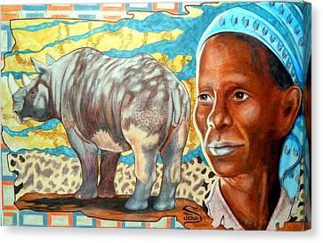 Kenya Dreams Canvas Print by Jamie Jonas