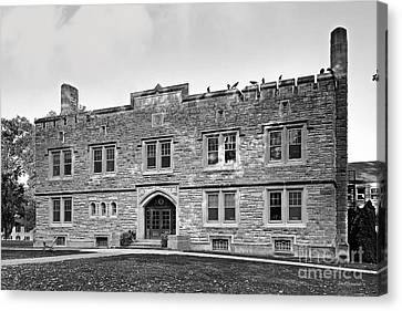 Kenyon College Ransom Hall Canvas Print by University Icons