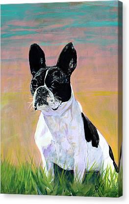 Kenzie Canvas Print by Arthur Rice