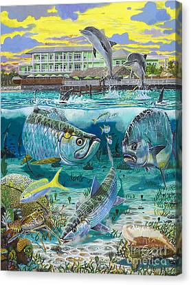 Key Largo Grand Slam Canvas Print by Carey Chen