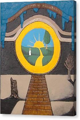 Keyhole Canvas Print by Steve  Hester