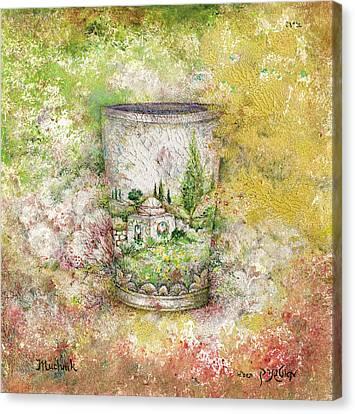 Kiddush Canvas Print by Michoel Muchnik