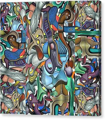 Kieko Alteration Canvas Print by George Curington