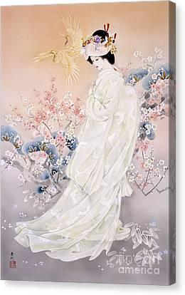 Kihaku Canvas Print by Haruyo Morita