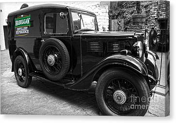 Kilbeggan Distillery's Old Car Canvas Print by RicardMN Photography