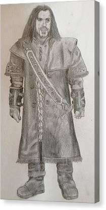 Kili From The Hobbit Canvas Print by Noah Burdett