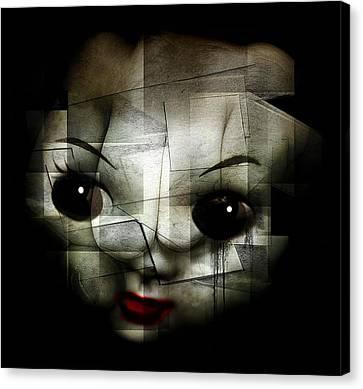 Kill The Clown Canvas Print by Johan Lilja