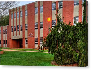 Killian Education And Psychology Building Canvas Print by Greg Mimbs