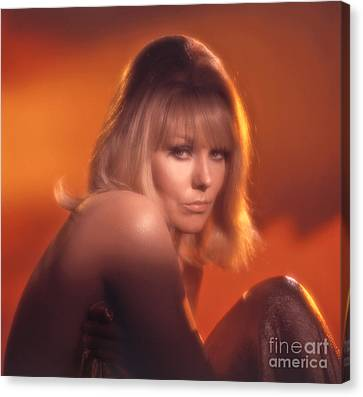 Kim Novak Canvas Print by Frank Bez