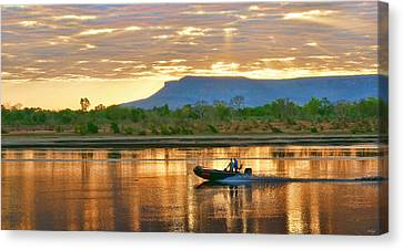 Kimberley Dawning Canvas Print by Holly Kempe
