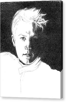 Kimmi Raikkonen Canvas Print by Diane Fine