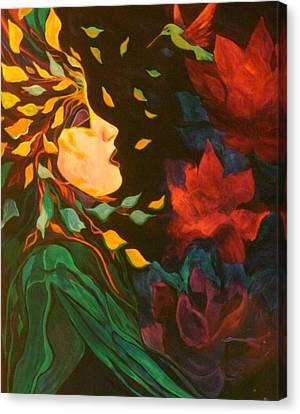 Kindred Spirits Canvas Print by Carolyn LeGrand