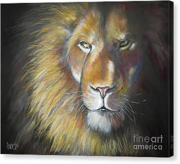 King Canvas Print by Tamer and Cindy Elsharouni