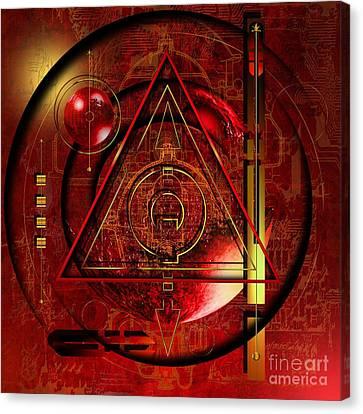 King Crimson Canvas Print by Franziskus Pfleghart
