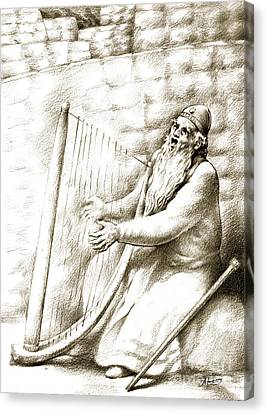 King David Canvas Print by Alex Tavshunsky