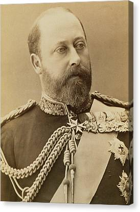 King Edward Vii  Canvas Print by Stanislaus Walery