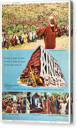 King Of Kings, Us Poster Art, 1961 Canvas Print by Everett