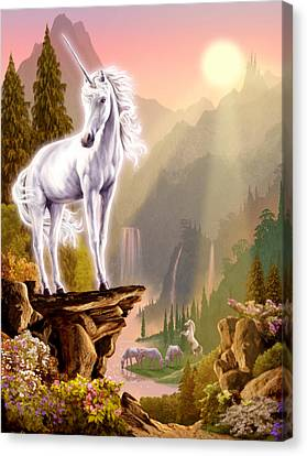 King Of The Valley Canvas Print by Garry Walton