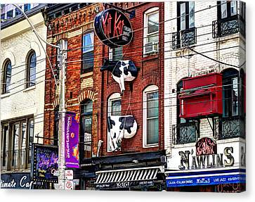 King Street West Canvas Print by Nicky Jameson