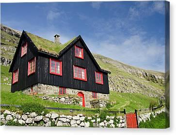 Kingdom Of Denmark, Faroe Islands (aka Canvas Print by Cindy Miller Hopkins