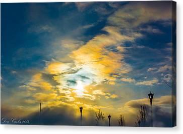Kingdom Of Heaven Canvas Print by Carlos Ruiz