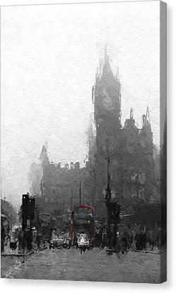 Kings Cross St Pancras Canvas Print by Steve K