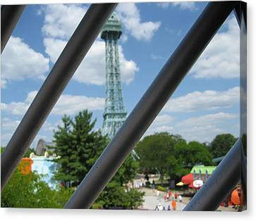 Kings Island - 121273 Canvas Print by DC Photographer