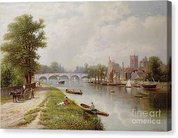 Kingston On Thames Canvas Print by Robert Finlay McIntyre