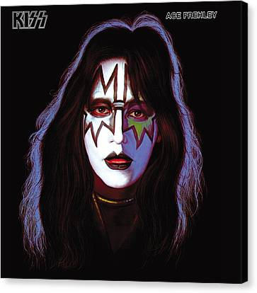 Kiss - Ace Frehley Canvas Print by Epic Rights