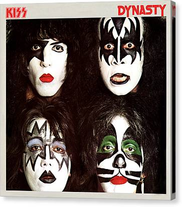 Kiss - Dynasty Canvas Print by Epic Rights