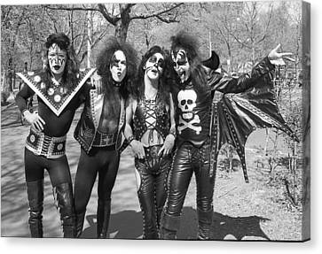 Kiss - Group Early Years Canvas Print by Epic Rights