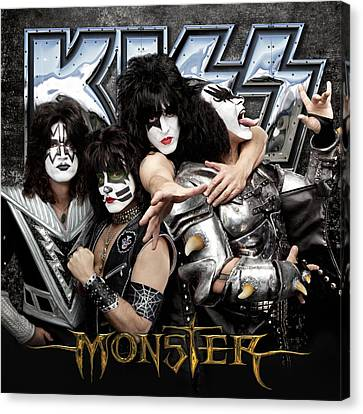 Kiss - Monster (2012) Canvas Print by Epic Rights