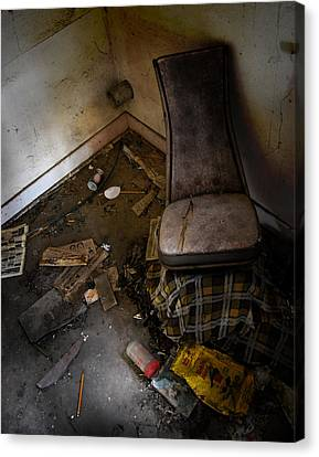 Kitchen Confessions  Canvas Print by JC Photography and Art
