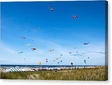Kite Festial Canvas Print by Robert Bales