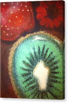 Kiwi Canvas Print by Corbin Runnels