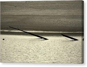 Klamath River Mouth - A Bliss Place Canvas Print by Christine Till