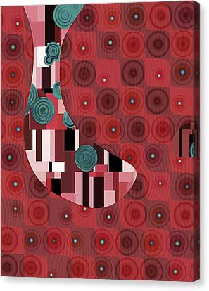 Klimtolli - 01rdbl01 Canvas Print by Variance Collections