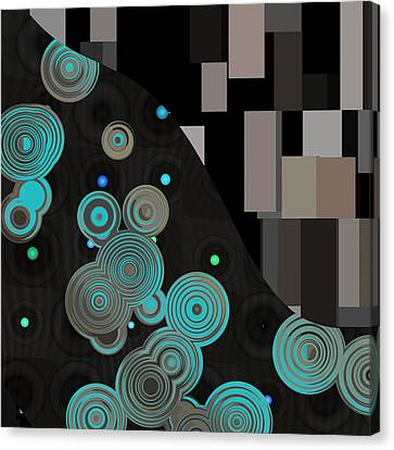Klimtolli - 11 Canvas Print by Variance Collections