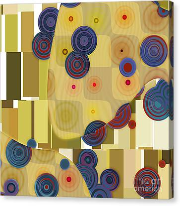 Klimtolli - 22 Canvas Print by Variance Collections