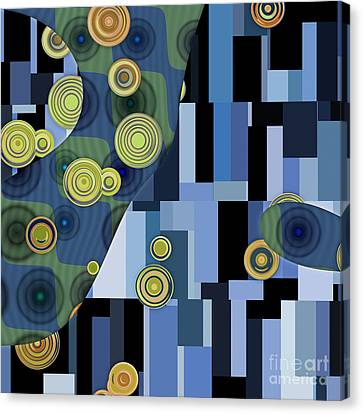 Klimtolli - 27 Canvas Print by Variance Collections