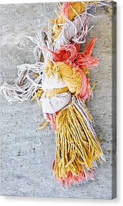 Knot Canvas Print by Tom Gowanlock