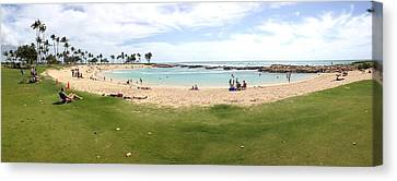 Ko Olina Lagoon Canvas Print by Gary Smith